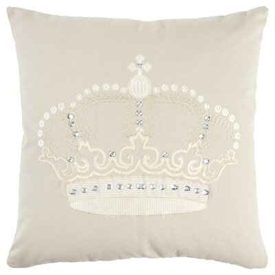 Honoria 100% Cotton Throw Pillow