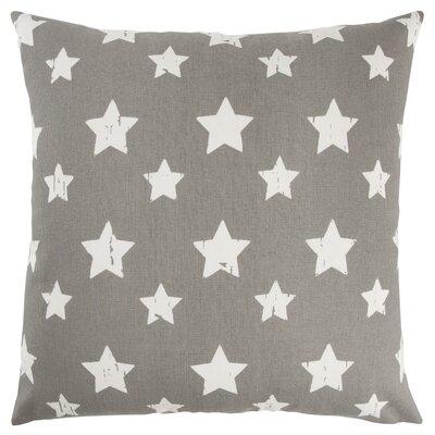 Juno 100% Cotton Throw Pillow Color: Gray