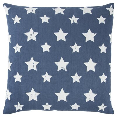 Juno 100% Cotton Throw Pillow Color: Blue
