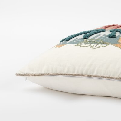 Samos Pumpkins 100% Cotton Throw Pillow