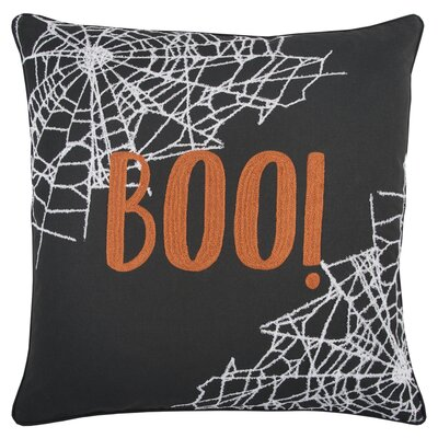 Holiday BOO! 100% Cotton Throw Pillow