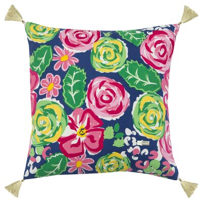 Stetler 100% Cotton Throw Pillow