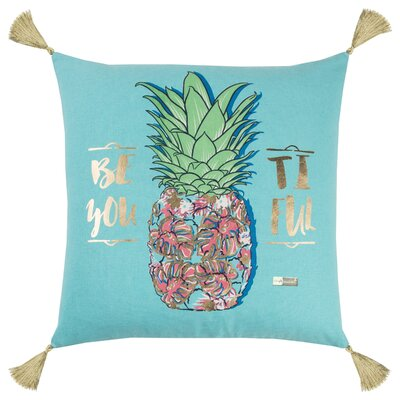 Apollo Contemporary 100% Cotton Throw Pillow