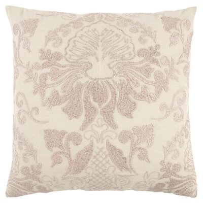 Nathan Decorative 100% Cotton Throw Pillow Color: Pink