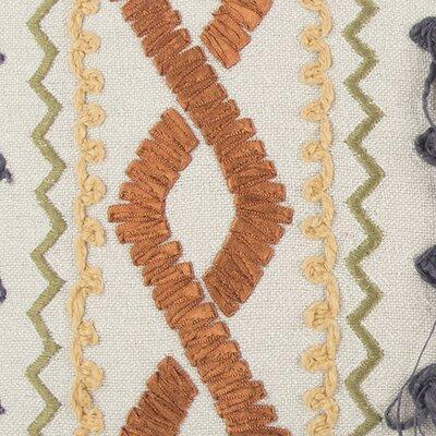 Laszlo Decorative 100% Cotton Lumbar Pillow