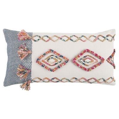 Diyadin Decorative 100% Cotton Lumbar Pillow
