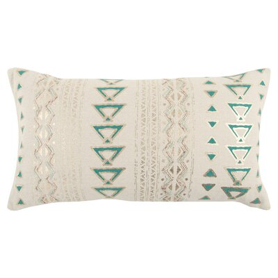 Kenji Decorative 100% Cotton Lumbar Pillow