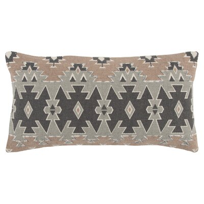 Maile Decorative 100% Cotton Lumbar Pillow