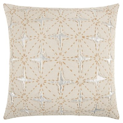 Nicollet Decorative 100% Cotton Throw Pillow