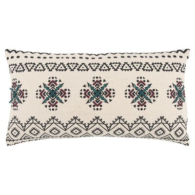 Kali Decorative 100% Cotton Lumbar Pillow