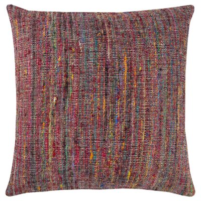 Del Rey Oaks Decorative 100% Cotton Throw Pillow Color: Multi/Red