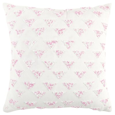 Cathey Decorative 100% Cotton Throw Pillow