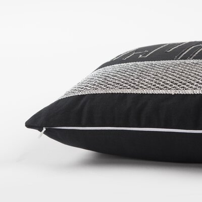 Harmonia Decorative 100% Cotton Lumbar Pillow