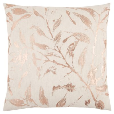 Fillmore Decorative 100% Cotton Throw Pillow Color: Pink