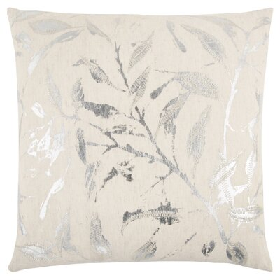 Fillmore Decorative 100% Cotton Throw Pillow Color: Natural