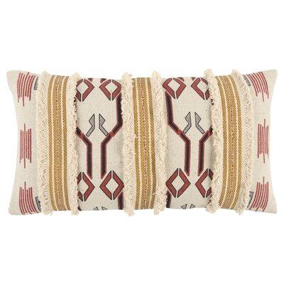 Brents Decorative 100% Cotton Lumbar Pillow