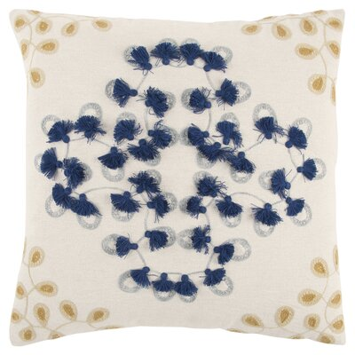 Creole Decorative 100% Cotton Throw Pillow
