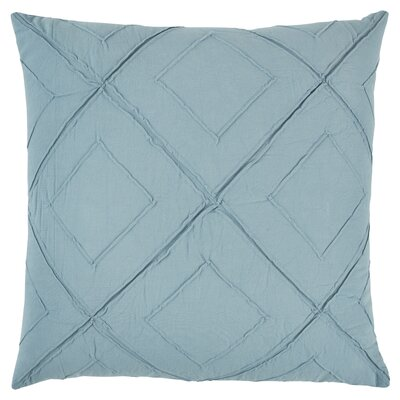Kingsburg Decorative 100% Cotton Throw Pillow Color: Turquoise, Size: 20 x 20