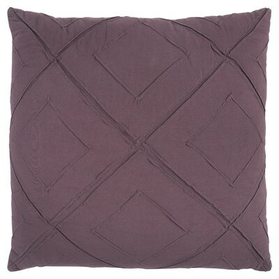 Kingsburg Decorative 100% Cotton Throw Pillow Color: Wine, Size: 20 x 20