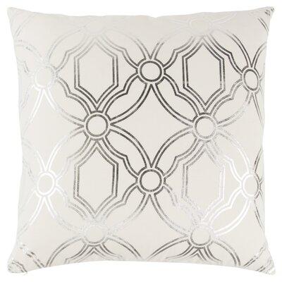 Ravello Decorative 100% Cotton Throw Pillow Color: Green