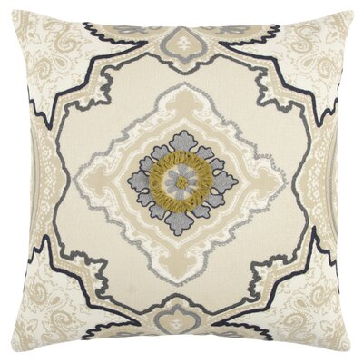 Ahmetli Decorative 100% Cotton Throw Pillow