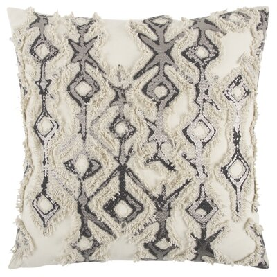 Adah Decorative 100% Cotton Throw Pillow