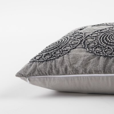 Deidre Decorative 100% Cotton Lumbar Pillow