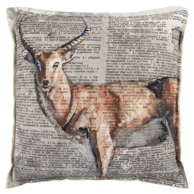 Senesca Decorative 100% Cotton Throw Pillow