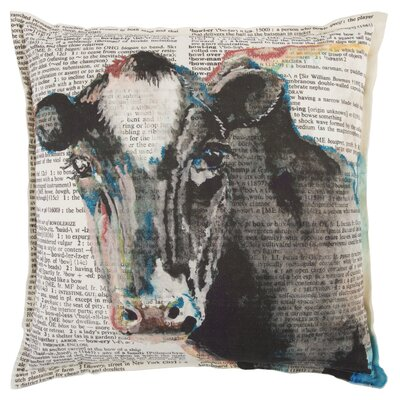 Samira Decorative 100% Cotton Throw Pillow