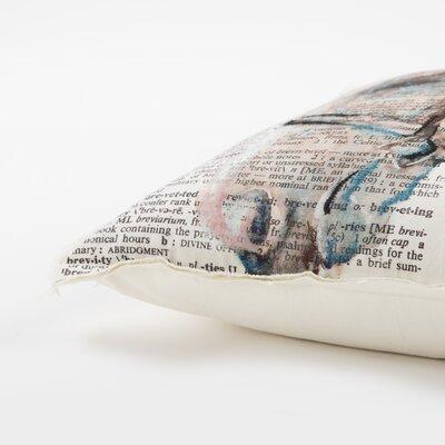 Abreu Decorative 100% Cotton Throw Pillow