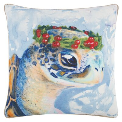 Twain Decorative 100% Cotton Throw Pillow