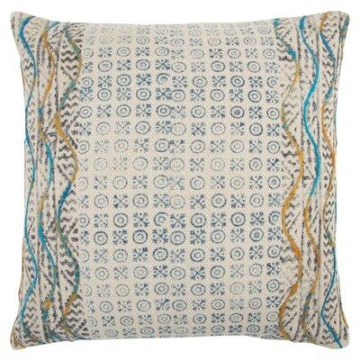Del Mesa Decorative 100% Cotton Throw Pillow