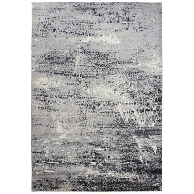 Lanette Gray Area Rug Rug Size: Rectangle 8 x 10