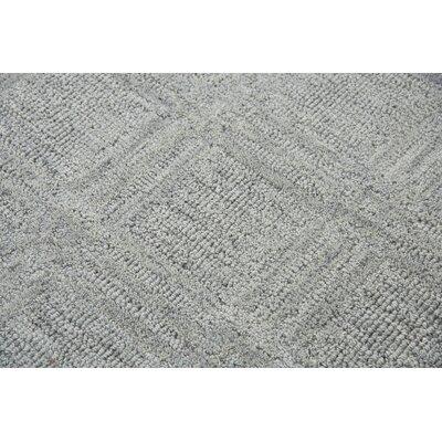Phan Hand-Tufted Wool Gray Area Rug Rug Size: Rectangle�5 x 8