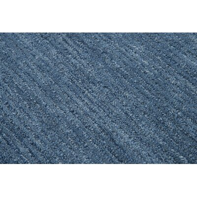 Phan Wool Blue Area Rug Rug Size: Rectangle�5 x 8