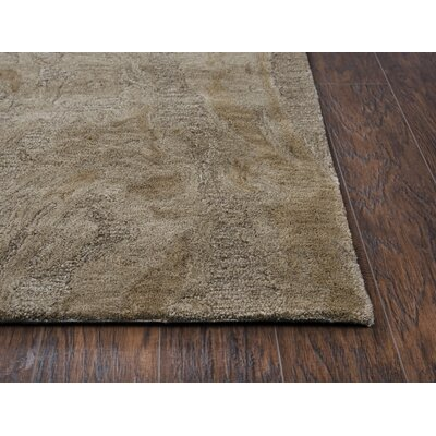 Phan Hand-Tufted Wool Brown Area Rug Rug Size: Rectangle�5 x 8