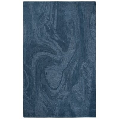Phan Hand-Tufted Wool Blue Area Rug Rug Size: Rectangle�8 x 10