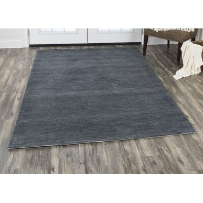 Phan Hand-Tufted Wool Dark Gray Area Rug Rug Size: Rectangle�10 x 13