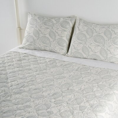 Paisley 3 Piece Quilted Bed Set
