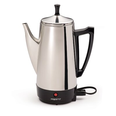 Coffee Percolator Maker Size: 12 Cups 02811