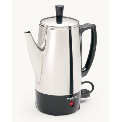 Coffee Percolator Maker Size: 6 Cups 2822