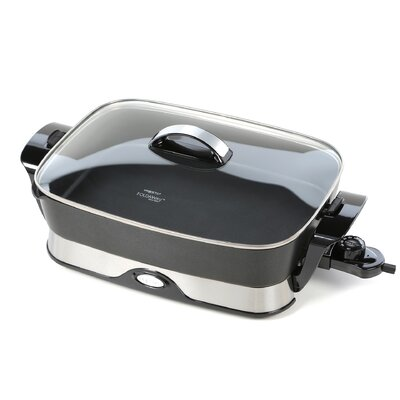 """Electric 16"""" Skillet with Lid 06857"""