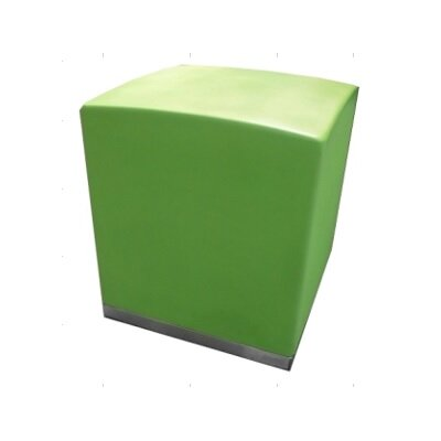 Muffin Square Ottoman Finish: Green