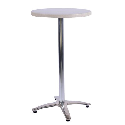 Duratop Bar Table Table Size: 30 L x 30 W, Top Finish: Sahara