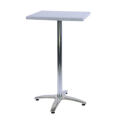 Duratop Bar Table Table Size: 30 L x 30 W, Top Finish: Siena