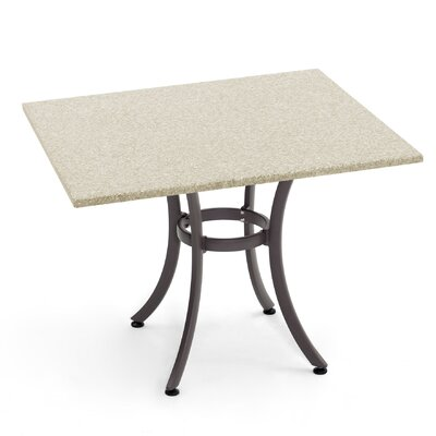 Duratop Dining Table Table Size: 24 L x 24 W, Base Finish: Sahara