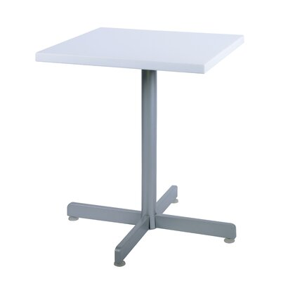Duratop Dining Table Top Finish: Snow White, Table Size: 30 L x 30 W