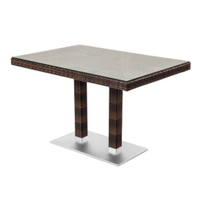 Seattle Dining Table Finish: Brown