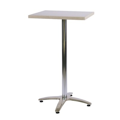 Duratop Bar Table Table Size: 24 L x 24 W, Top Finish: Sahara