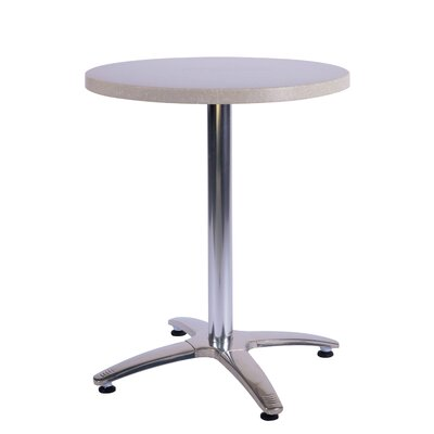 Duratop Dining Table Table Size: 24 L x 24 W, Top Finish: Sahara